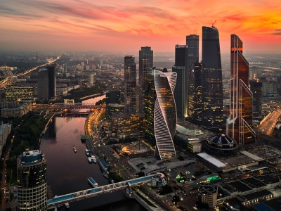 Moscow International Business Center (click to view)