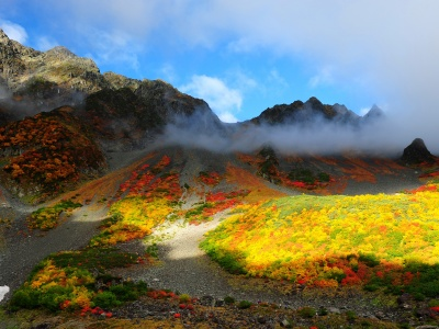 Mountains Autumn Scenery (click to view)