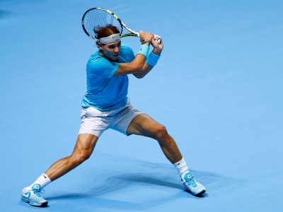 Nadal Plays Tennis (click to view)