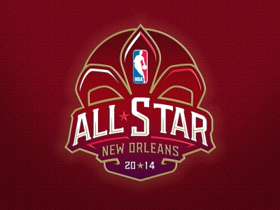 NBA All-Star Logo New Orleans 2014