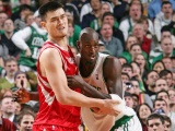 Nba Kevin Garnett And Yao Ming