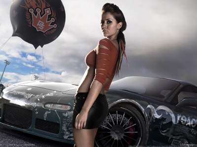 Need For Speed Prostreet Girl 2