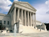 Neoclassical Supreme Court Building Washington Dc United States