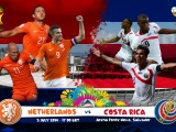 Netherlands Vs Costa Rica Brazil 2014