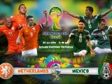 Netherlands Vs Mexico World Cup 2014