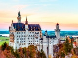 Neuschwanstein Castle Autumn Germany