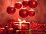 New Year Christmas Gifts Candles Mood