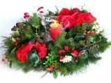 New Year Christmas Holiday Wreath