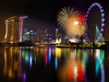 New Year Singapore Fireworks