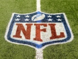 NFL Logo On Grass