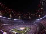NFL MetLife Stadium And Fireworks