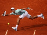 Novak Djokovic At Roland Garros