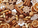 Nuts Cookies Christmas