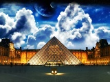 Over The Louvre