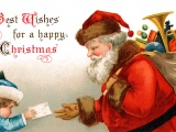 Painting Christmas Santa Claus