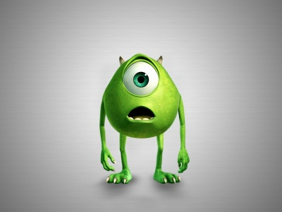 Pixar Movies Monsters Inc Mike Wazowski