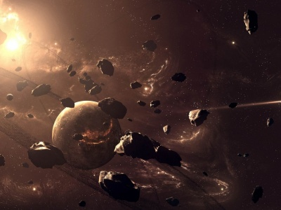 Planets And Asteroids (click to view)