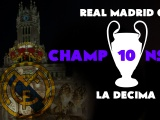 Real Madrid La Decima-Winner 2014 CL