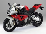 Red BMW S1000RR