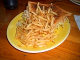 Sandwiches Food French Fries