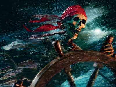 Sea Pirate Skeleton (click to view)