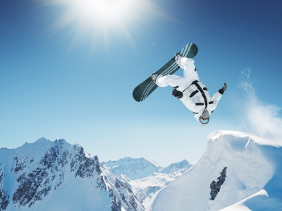 Snowboard Jump (click to view)