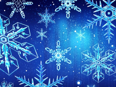 Snowflakes Texture (click to view)