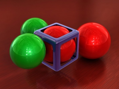 Spheres Cube (click to view)