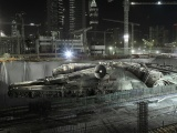 Star Wars Cityscapes Ships Millenium Falcon Constructions