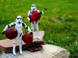 Stormtroopers Fruits Funny Toys Cherries
