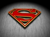 Superman 3D Logo