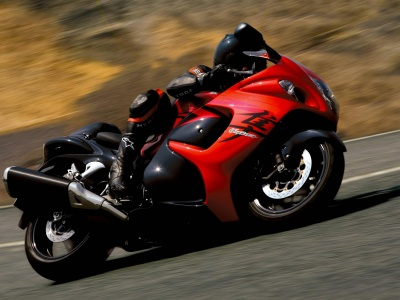 Suzuki Hayabusa Red-Black (click to view)