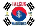 Taeguk Warriors South Korea Football Logo