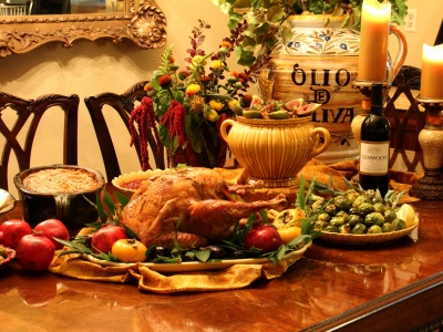 Thanksgiving Dinner (click to view)