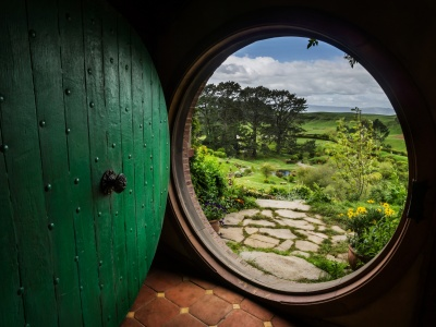 The Hobbit House Door (click to view)