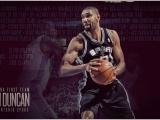 Tim Duncan NBA Superstar And Legend