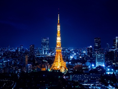 Tokyo Tower At Night (click to view)
