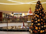 Tree Shopping Center Holiday Christmas Vanity New Year Mood