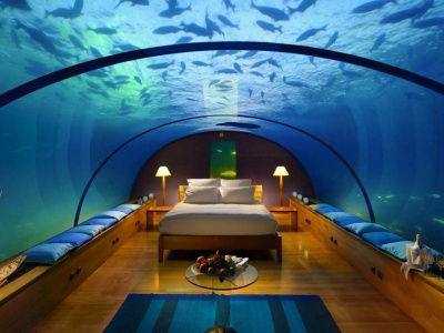 Underwater Hotel Room With A View
