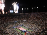 US Open And Fireworks