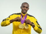 Usain Bolt Jamaica Sprinting Champion Athletes London Olympic Games