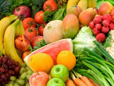 Vegetables Fruits Food Watermelons Bananas (click to view)