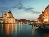 Venice - Grand Canal And Cathedral