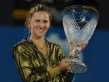 Victoria Azarenka With Trophy