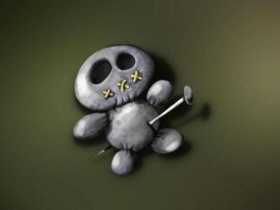 Voodoo Doll Toy Scary (click to view)