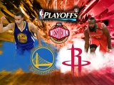 Warriors Vs Rockets Western Finals