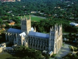 Washington National Cathedral Usa Landscape