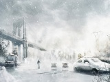Winter Cityscapes Post-apocalyptic
