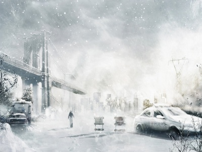Winter Cityscapes Post-apocalyptic (click to view)