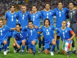 World Cup Italy National Football Team Blue Jersey